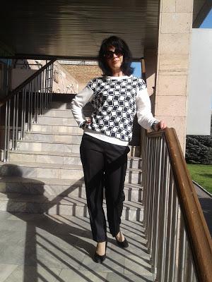 Свитшот (трикотажный пуловер)
