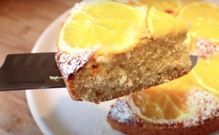 Режем 2 апельсина и заливаем вкуснейший пирог: нежнее и мягче Наполеона сладкая выпечка