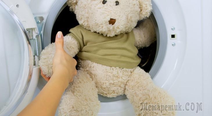 Как стирать мягкие игрушки правила и способы