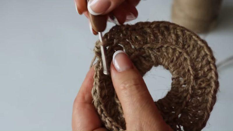 Отличный коврик из джута интерьер,переделки,рукоделие,своими руками,сделай сам
