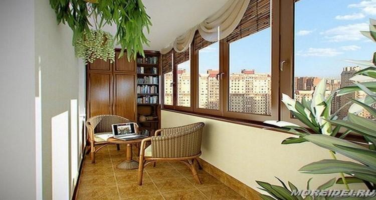 Дизайн балконов снаружи и внутри: море идей!