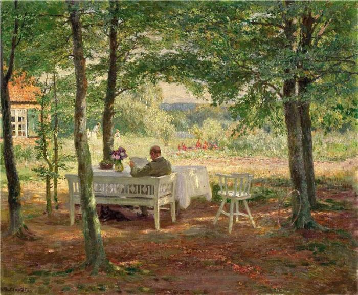 Автор картины – немецкий художник Вильгельм Людвиг Генрих Клавдий (Wilhelm Ludwig Heinrich Claudius).