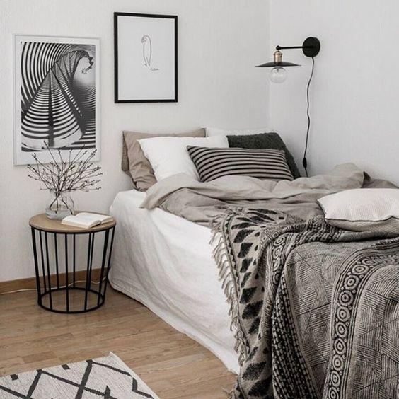 Как обустроить спальню в скандинавском стиле: десять интересных идей