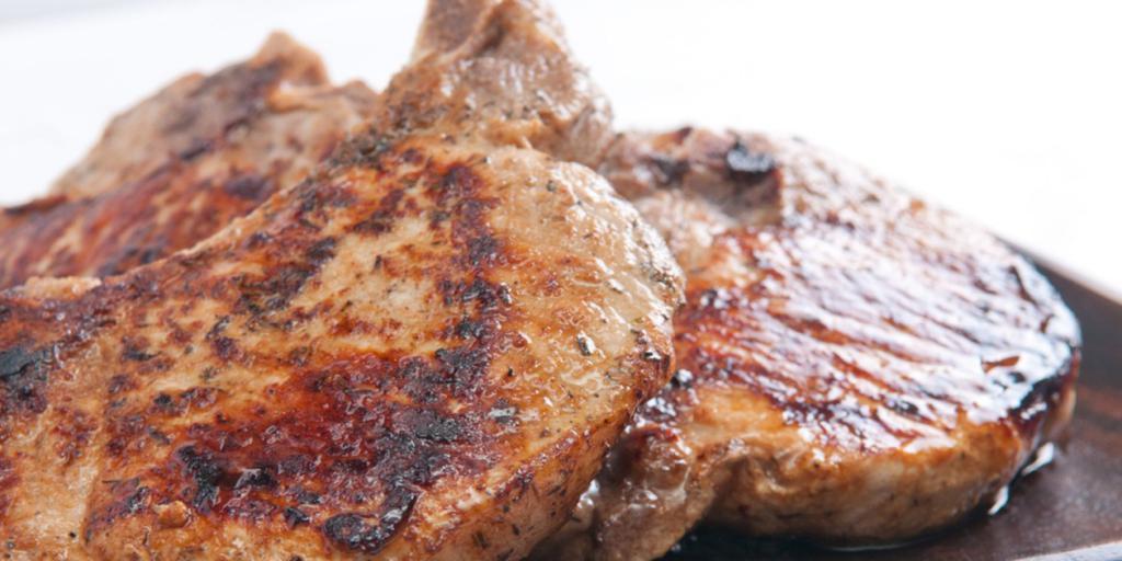 Вкуснейшая отбивная из свиной шеи