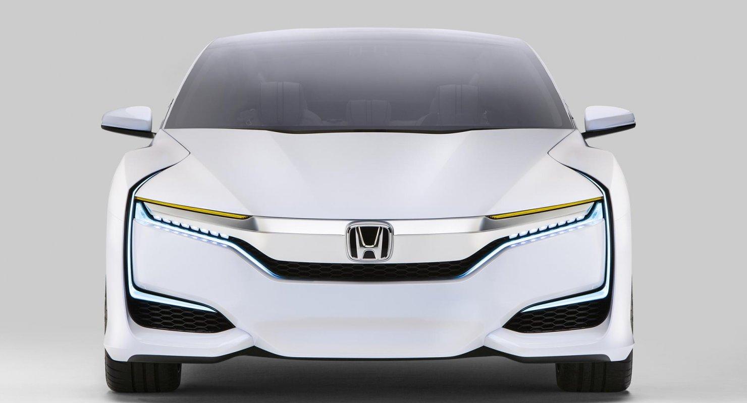 Водородный седан Honda FCV: Самый необычный авто марки Автомобили