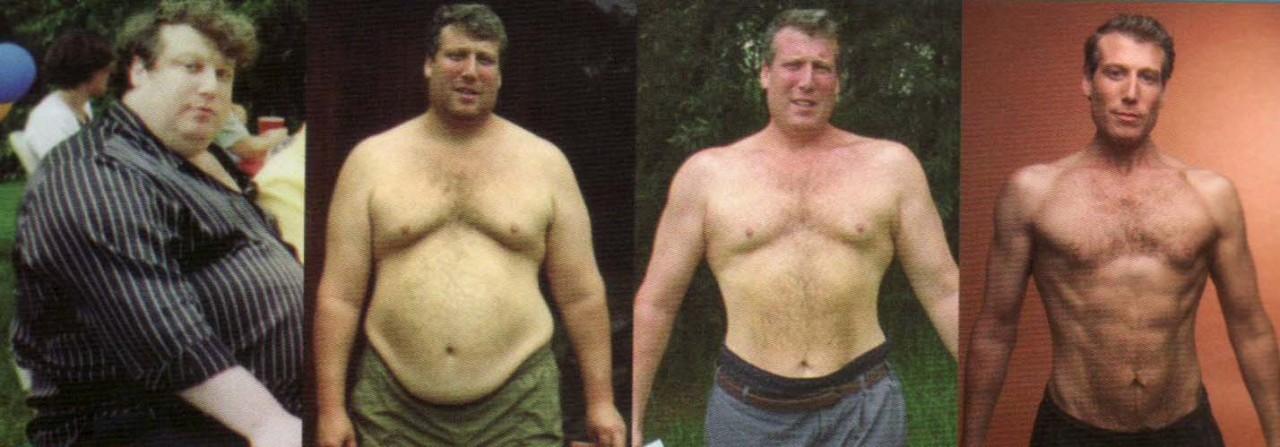 Этот человек похудел на 100 кг с помощью 7 правил, которые вывел самостоятельно.