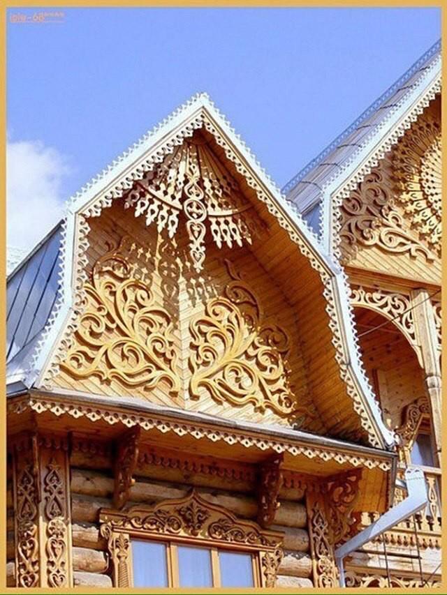 Современное деревянное зодчество. Сказочная красота!