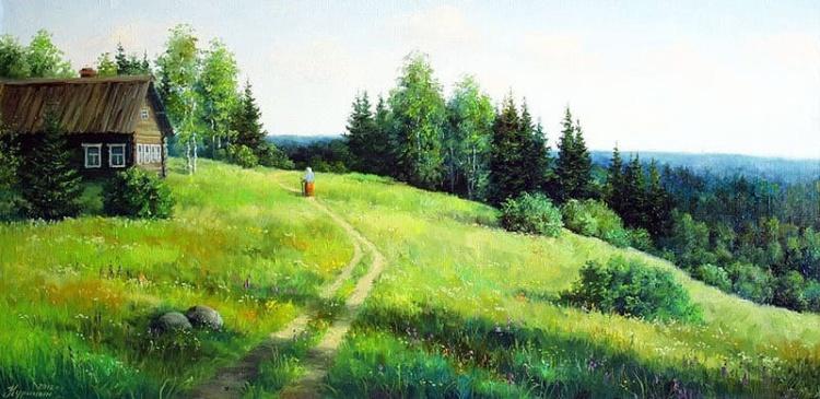 художник Сергей Курицын картины – 07