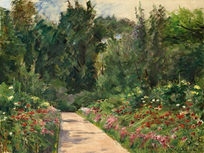 + The Garden In Wannsee To The West 1921. (659x496, 403Kb)