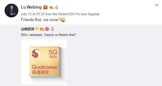 Смартфоны Redmi и Realme со Snapdragon 855+ могут появиться в ближайшее время новости,смартфон,статья