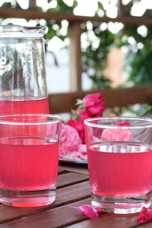Лимонад из розы лимонад,напитки