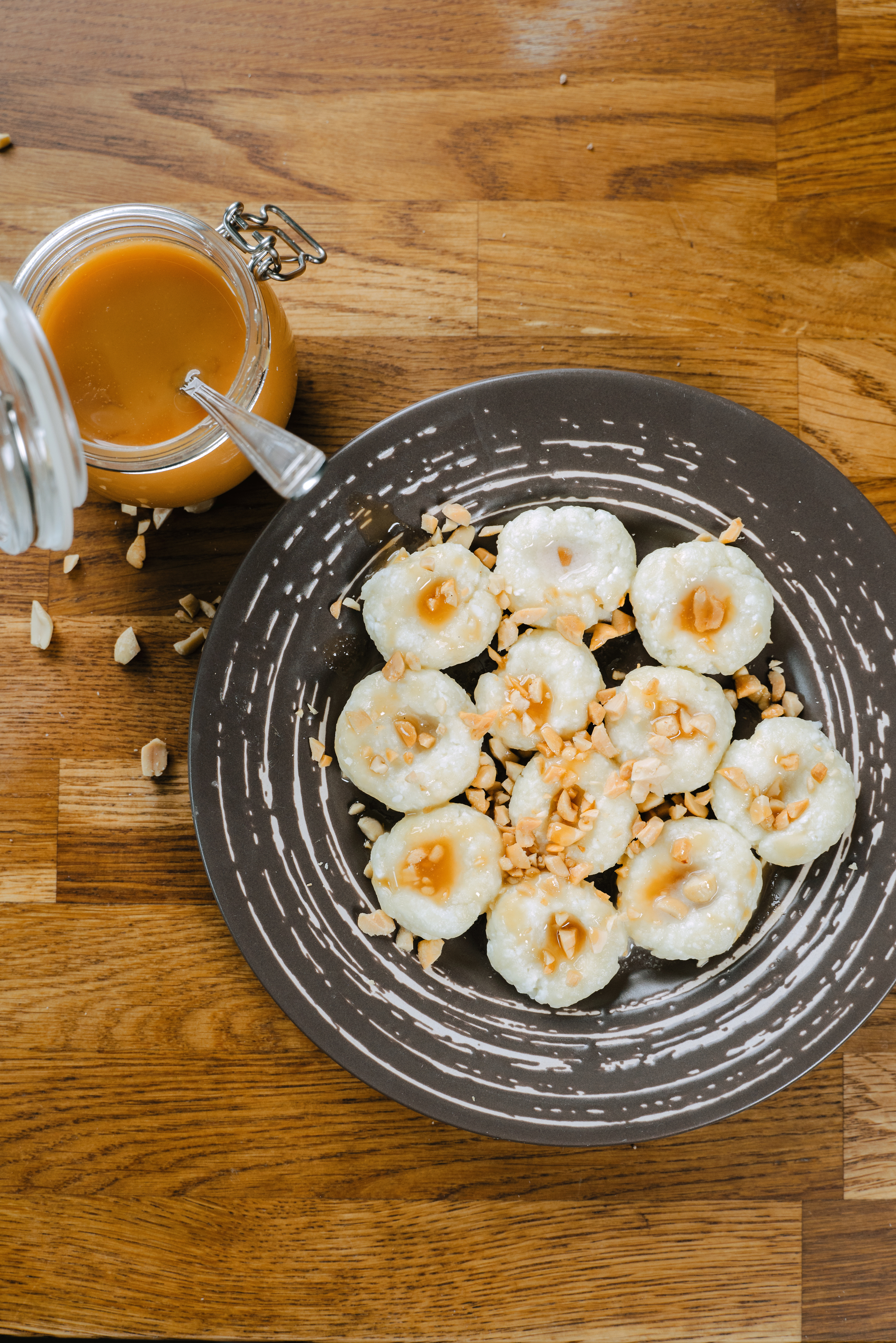 Ленивые вареники СНИКЕРС вареники,десерты