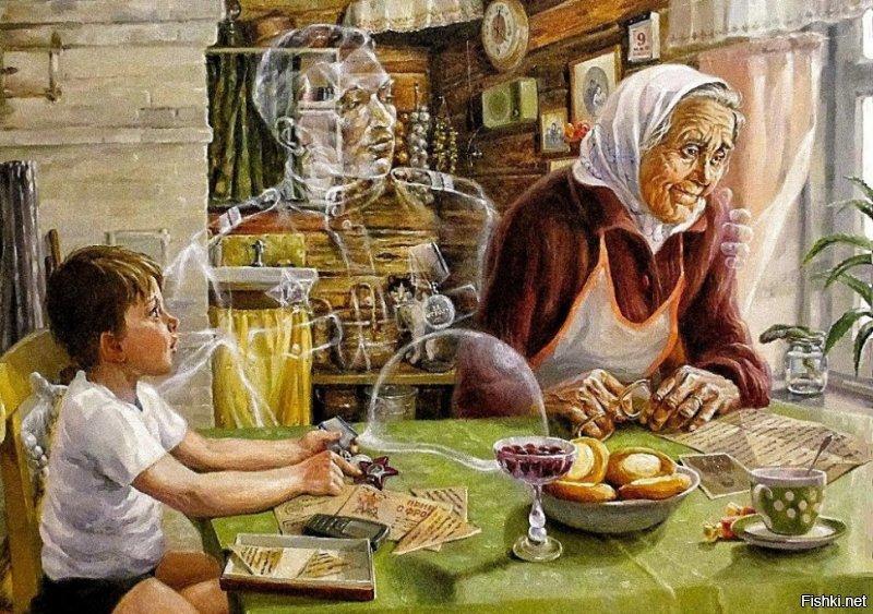 Великая Отечественная в живописи прошлого и настоящего