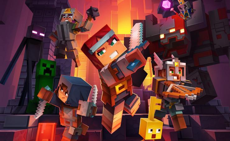 Diablo и не снилось – в Minecraft Dungeons можно убивать врагов в образе огненной лисицы minecraft dungeons,анонсы,Игровые новости,Игры
