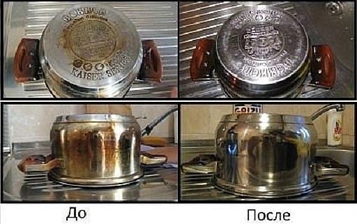 Кухонный супер очиститель! Всего 2 ингредиента, которые всегдаесть дома под рукой. Очищает все!