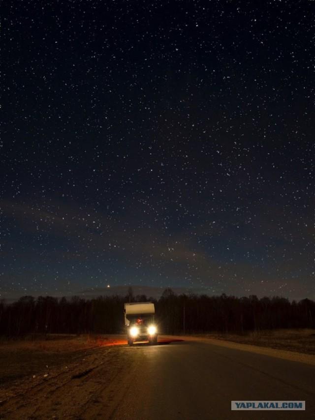 Как жить в автодоме зимой автомобили,водители