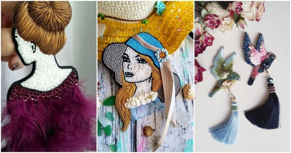 Очаровательные броши-универсальные украшения для одежды на булавочке