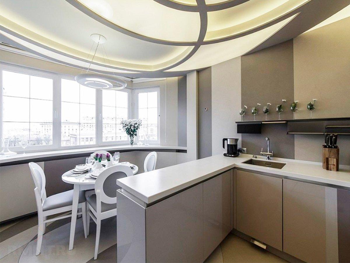 материалы фотографии потолок на кухне с эркером фото этой подборке