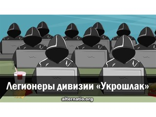 Легионеры дивизии «Укрошлак» украина