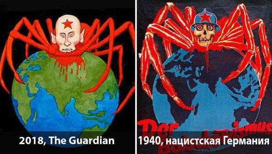 Рассекречено: как Запад будет из Путина делать Гитлера