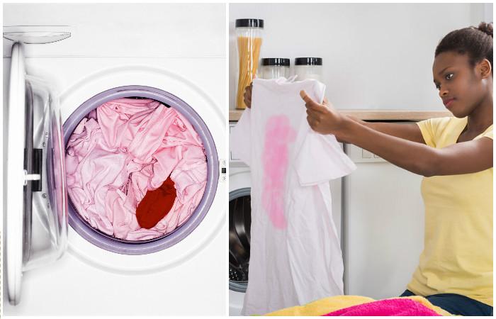 Как защитить цветные вещи от -линьки- и спасти стирку: удивительно простой способ