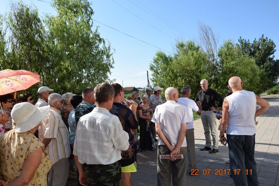 Активисты Камызяка просят от…