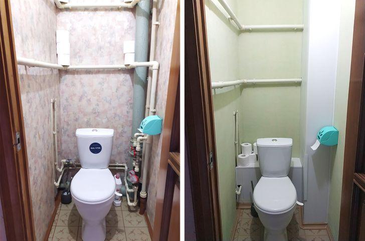 18 случаев, когда ремонт оказался настолько крутым, что хочется спросить: «Так можно было, да?» идеи для дома,интерьер и дизайн