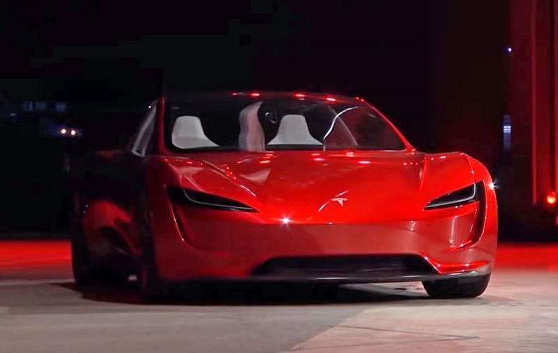 «Реактивный» гиперкар Tesla Roadster разгонится до 100 км/ч за 1,1 секунды Техно