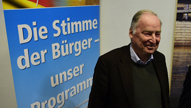 Немецкий политик назвал Крым исконно российской территорией