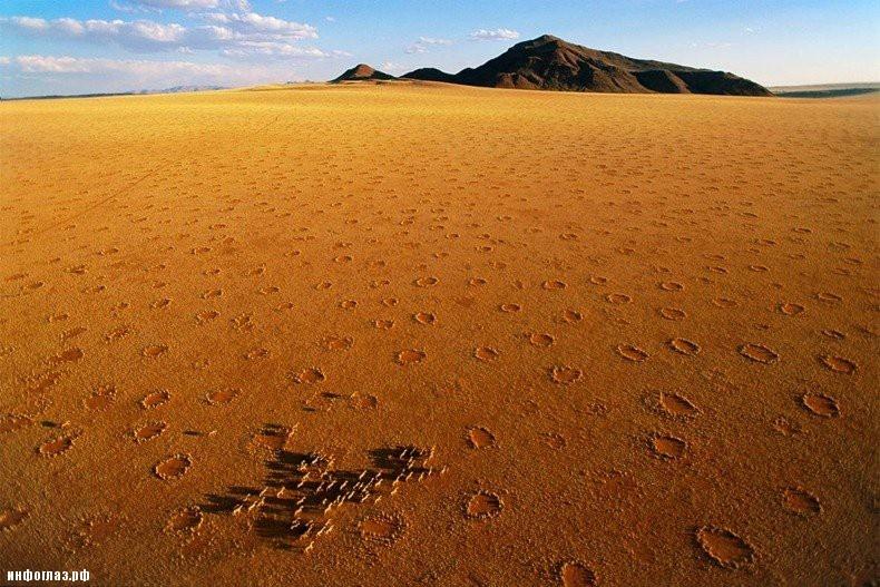Загадочные круги в пустыне: …