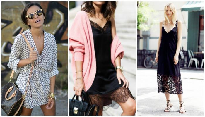 Мода и стиль —  бельевой стиль как модный тренд сезона лето 2017