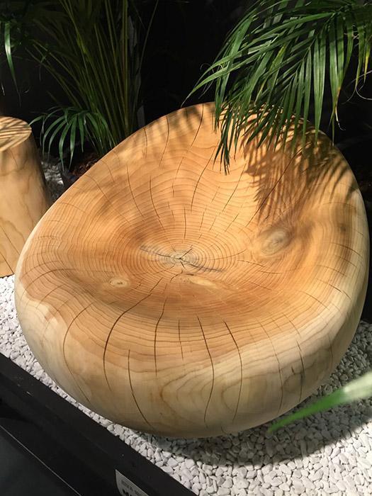 Уникальная мебель из дерева дерево в интерьере