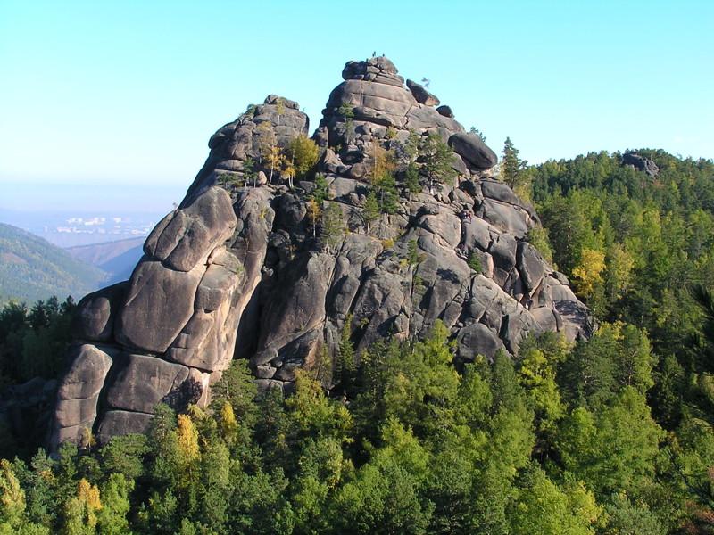 3. Красноярские столбы природа, россия, чудеса