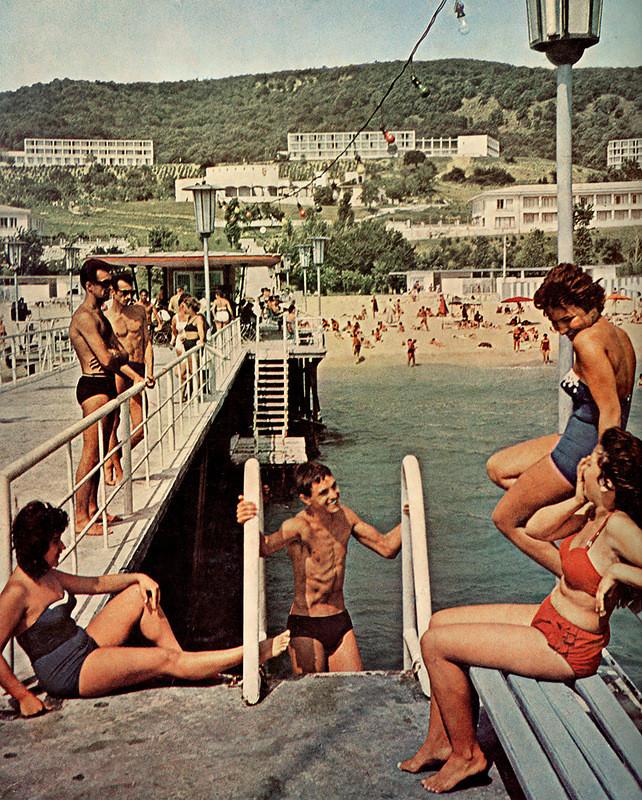 Золотые пески, 1960 год: СССР, болгария, быт, история, это интересно
