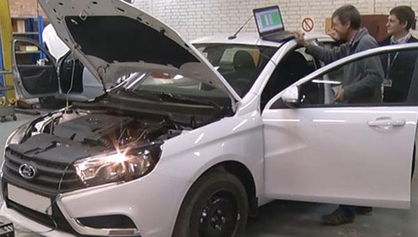 Немцы протестировали экспортную версию Lada Vesta