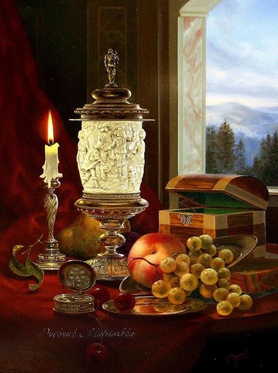 художник Gyula Boros (Дьюла Борос) картины – 16