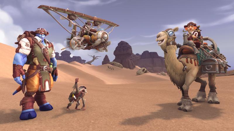 """Все подробности и награды обновленной программы """"Пригласи друга"""" в World of Warcraft mmorpg,pc,world of warcraft,Игры"""