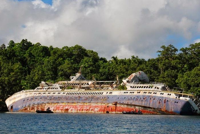 Знаменитые затонувшие корабли, на которых до сих пор можно побывать затонувший корабль