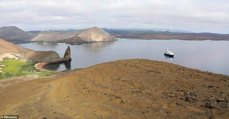 14. Лайнер Silver Galapagos от фирмы Silversea был специально разработан для круизов на просторы отдаленного вулканического архипелага в Тихом океане - Галапагосских островов. Судно вмещает всего 100 пассажиров, но программа - более чем впечатляющая красиво, красивые места, круиз, круизы, мир, паром, путешествия, фото