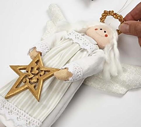 Рождественский ангел своими руками