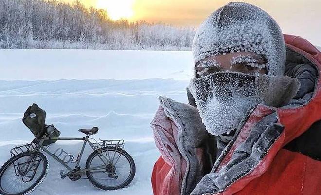Итальянец поехал в Якутию и рассказал про свои ощущения от жизни в минус 55 градусов