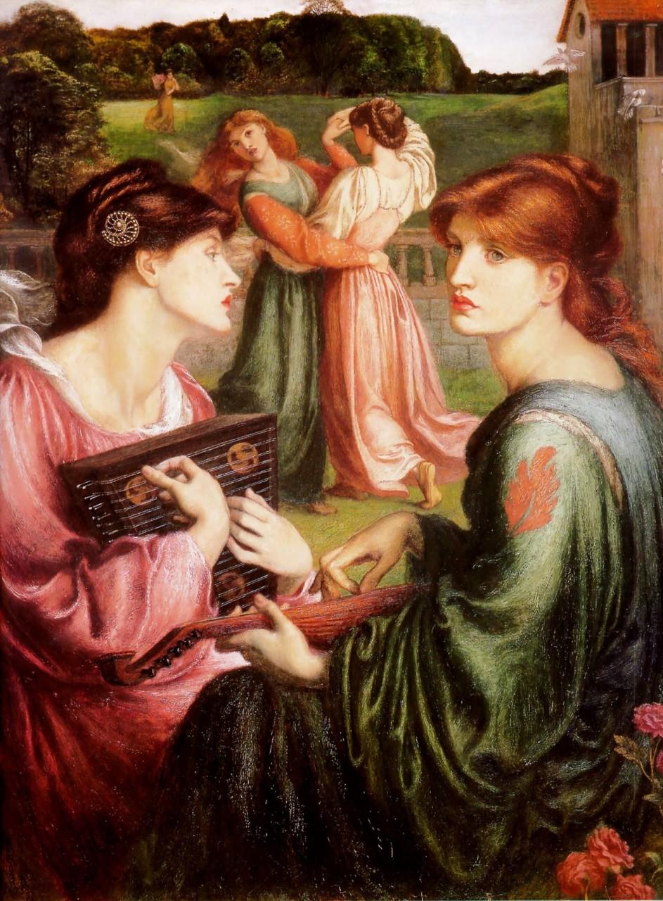 Две подруги: любовь в искусстве