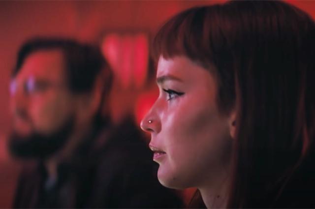 Дженнифер Лоуренс и Леонардо ДиКаприо на первых кадрах премьеры Netflix