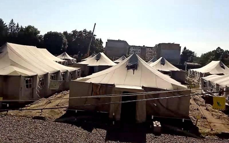Прибалты готовят палаточный лагерь для «белорусских беженцев» Новости