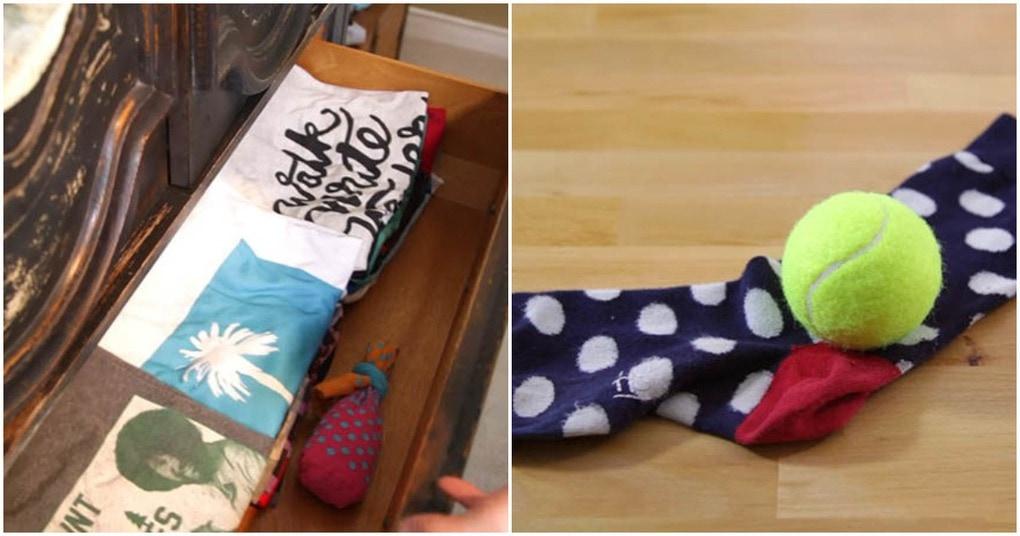 7 самых необычных и по-своему гениальных идей применения одиночного носка