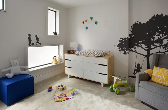Современный Комната для малыша by ZeroEnergy Design
