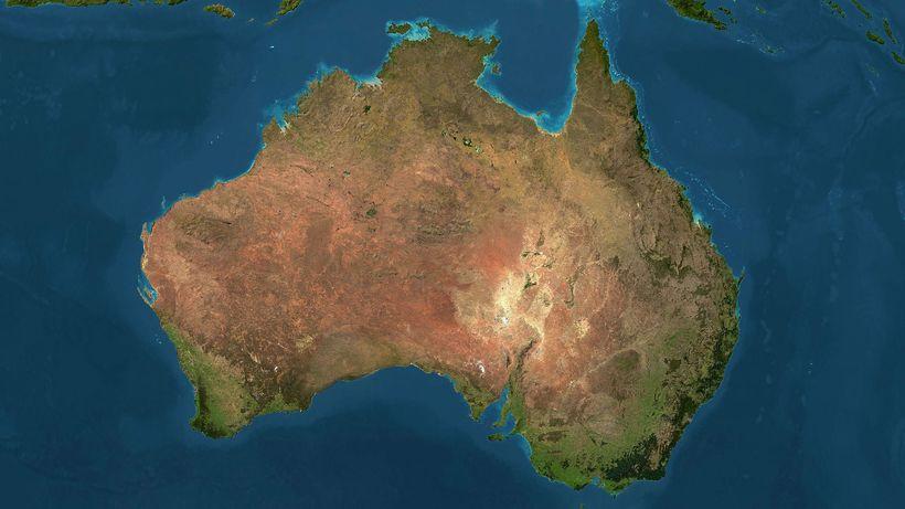 Австралия мигрирует в зависимости от времени года