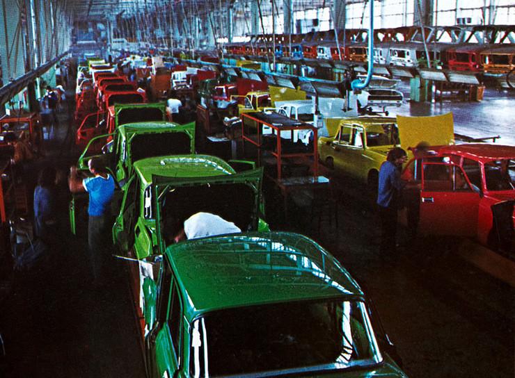 1980е, Завод Балкан в Ловече: СССР, болгария, быт, история, это интересно