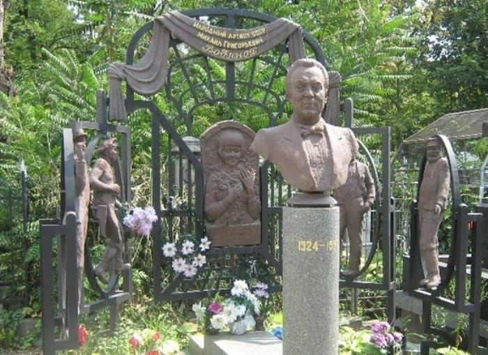 Памятник на могиле Михаила Водяного | Фото: liveinternet.ru