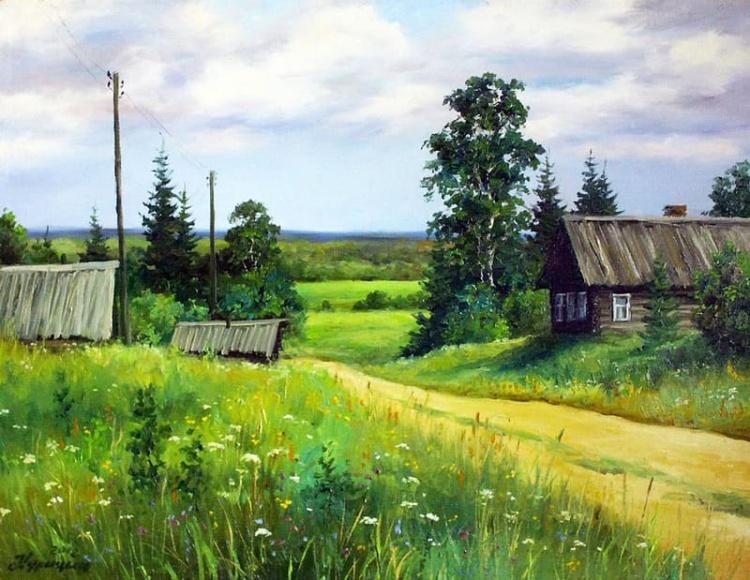 художник Сергей Курицын картины – 12